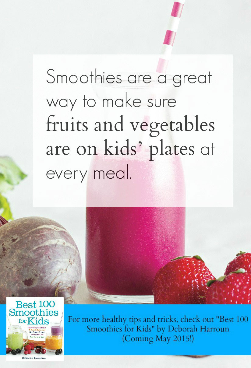 smoothies are nutritious and delicious