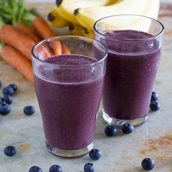 Carrot Banana Berry Smoothie - Best 100 Smoothies for Kids