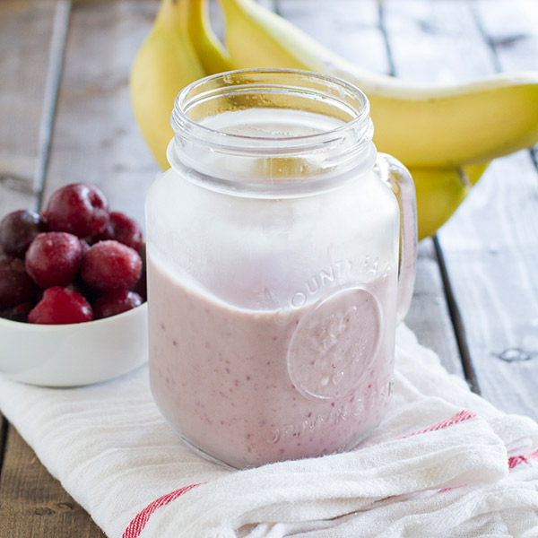 Cherry Banana Smoothie - Best 100 Smoothies for Kids