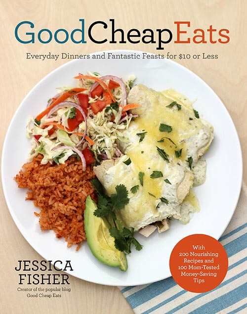 A Review of Good Cheap Eats by Jessica Fisher, plus a recipe for Poblano Chile Scramble.