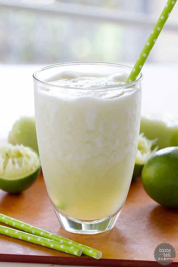 Honeydew Lime Smoothie | Smoothie Week