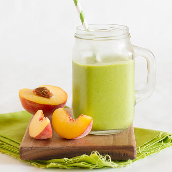 Peachy Green Smoothie - Best 100 Smoothies for Kids