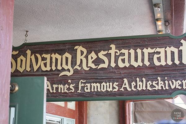 Solvang Restaurant - Solvang, California