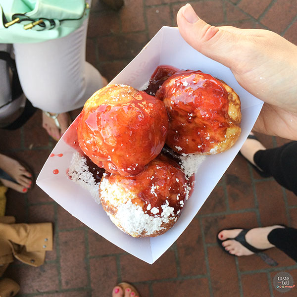 Aebleskiver in Solvang, California