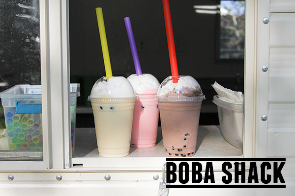 Boba Shack – a Utah food truck with made to order boba smoothies.