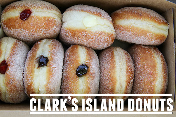 Clark's Island Donuts - A Utah Food Truck that serves Malasadas - a Portuguese donut that is very popular in Hawaii.
