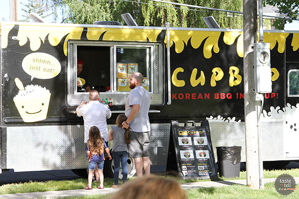 Cupbop - Utah Food Truck serving Korean-stlye BBQ.