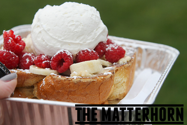 The Matterhorn - a Utah Food Truck taking breakfast to a new level with gourmet French toast.