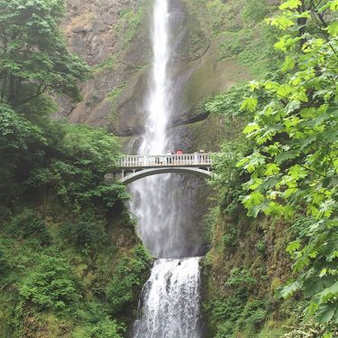 OXO Farm Tour - Multonomah Falls : Oregon