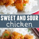 Recipe for Sweet and Sour Chicken