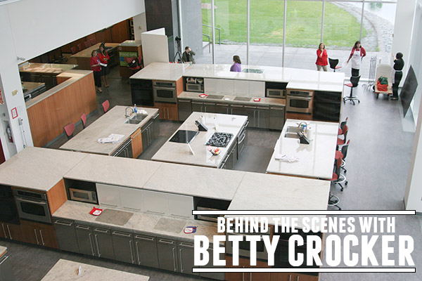 Behind the Scenes with Betty Crocker