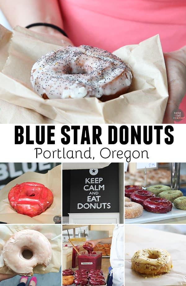 Blue Star Donuts in Portland, Oregon