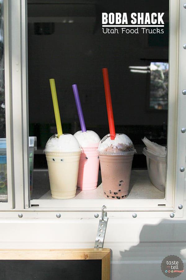 Boba Shack - Utah Food Trucks