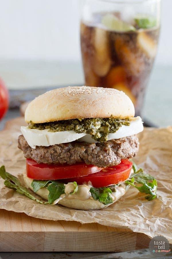 Caprese Burger | The Art of the Burger Review