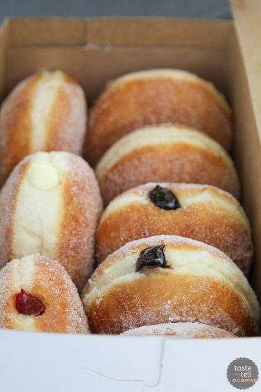 Clark's Island Donuts - A Utah Food Truck that serves Malasadas - a Portuguese donut that is very popular in Hawaii.