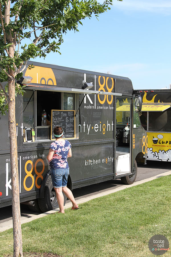 Kitchen Eighty Eight - a Utah food truck specializing in modern American fare.