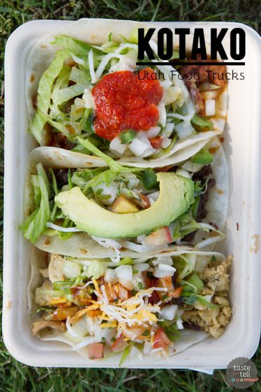 Kotako - a Utah Food Truck serving up a Mexican-Asian fusion menu with tacos, burritos and quesadillas.