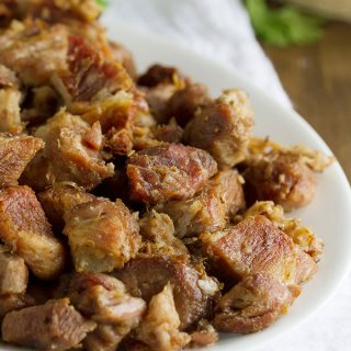Pork Carnitas Recipe - so easy with only 3 ingredients!