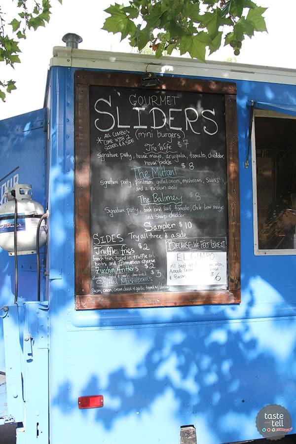 Savour - Utah food truck making fresh, homemade food, specializing in sliders with seasonal ingredients.