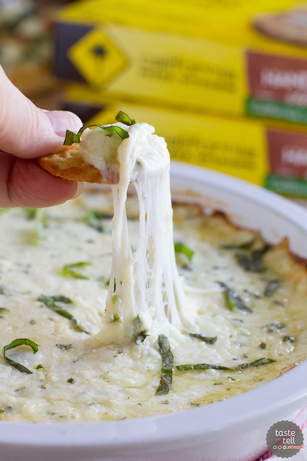 White Cheese Dip + California Pizza Kitchen Hand Tossed Pizza