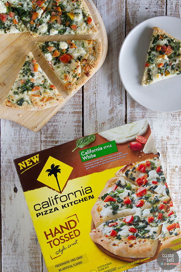 California Pizza Kitchen Hand Tossed Style Crust California Style White Pizza