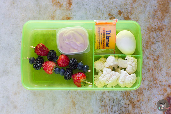 4 great school lunch ideas - great ways to de-junk the lunchbox!