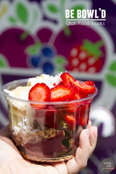 Be Bowl'd - a Utah food truck making acai bowls with fresh fruit and granola.
