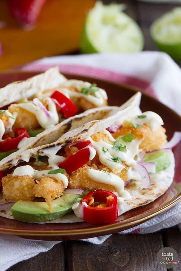 Crispy Shrimp Taco Recipe | Tex-Mex From Scratch Review