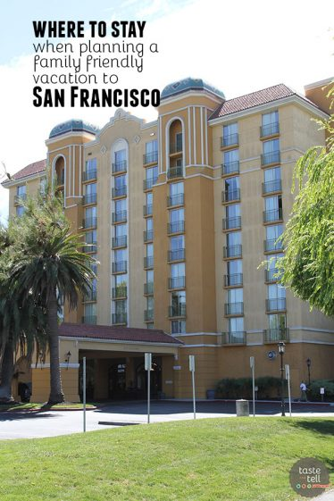 Wondering where to stay in San Francisco with a bigger family? Venture just outside the city to the Embassy Suites San Francisco Airport Waterfront. Spacious, less expensive and just a short drive from downtown San Francisco.
