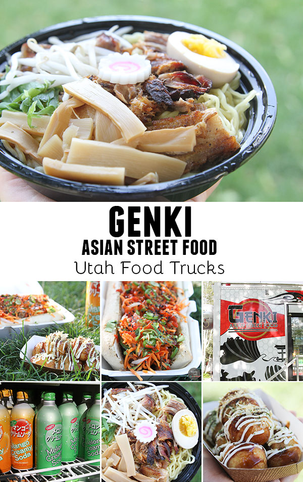 Genki Asian Street Food - a Utah food truck with authentic eastern Asian street food made from scratch.