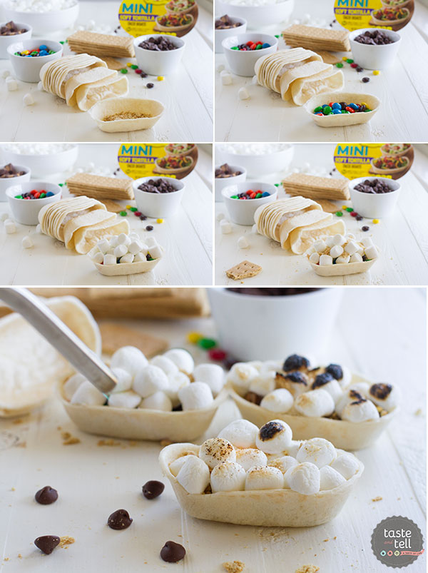 How to make Mini S'mores Boats