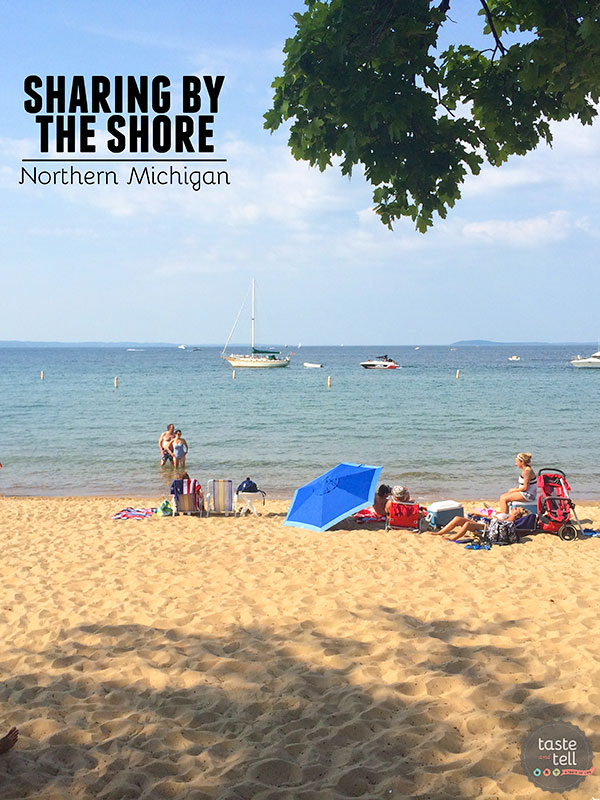 Sharing By the Shore - a behind the scenes look at a blogger retreat in Northern Michigan.