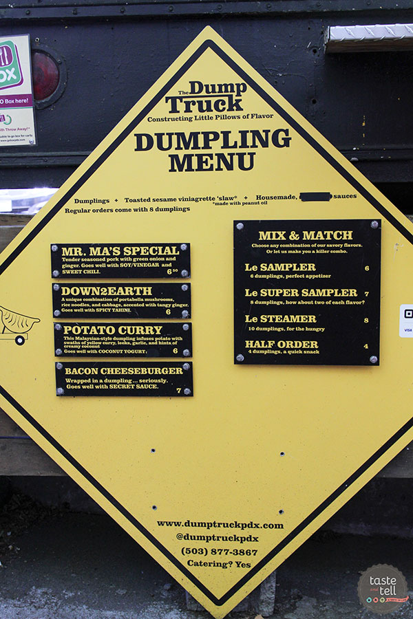 Taste and Tell's Guide to Where to eat in Portland, OR - The Dump Truck