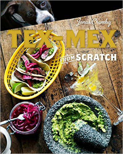 A review of Tex-Mex From Scratch by Jonas Cramby plus a Crispy Shrimp Taco Recipe.