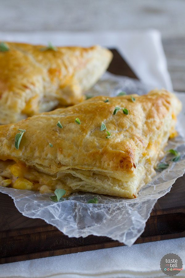 Creamy Chicken and Corn Turnover Recipe