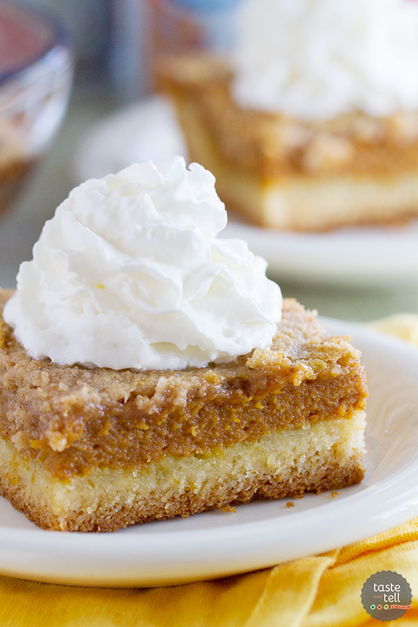 Pumpkin Dessert Recipes Free With Yellow Cake Mix