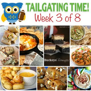 9 recipes from your favorite bloggers - perfect for tailgating!
