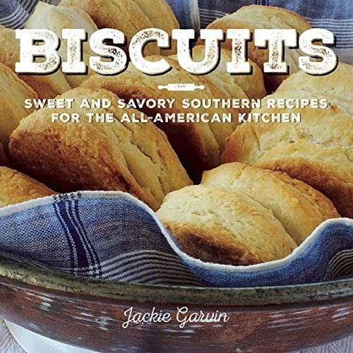A review of Biscuits by Jackie Garvin, plus a recipe for Chocolate Chip Biscuits with Raspberry Cream