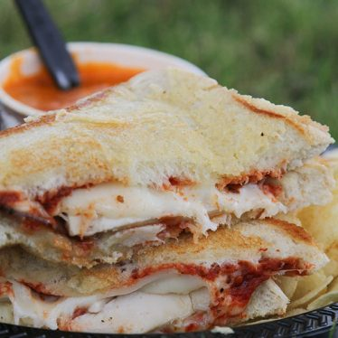 Melty Way - a Utah food truck serving gourmet grilled cheese sandwiches.