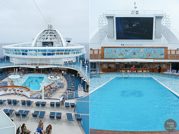 A look at the Ruby Princess - on of the Princess Cruises ships.