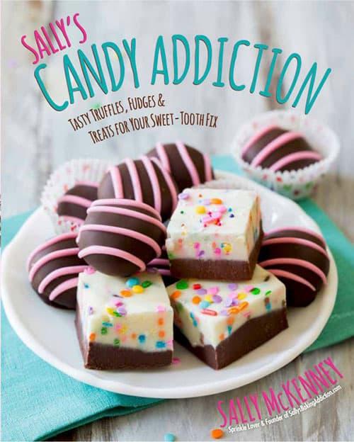 A review of Sally's Candy Addiction, plus a recipe for Creamy Cranberry Pistachio Fudge