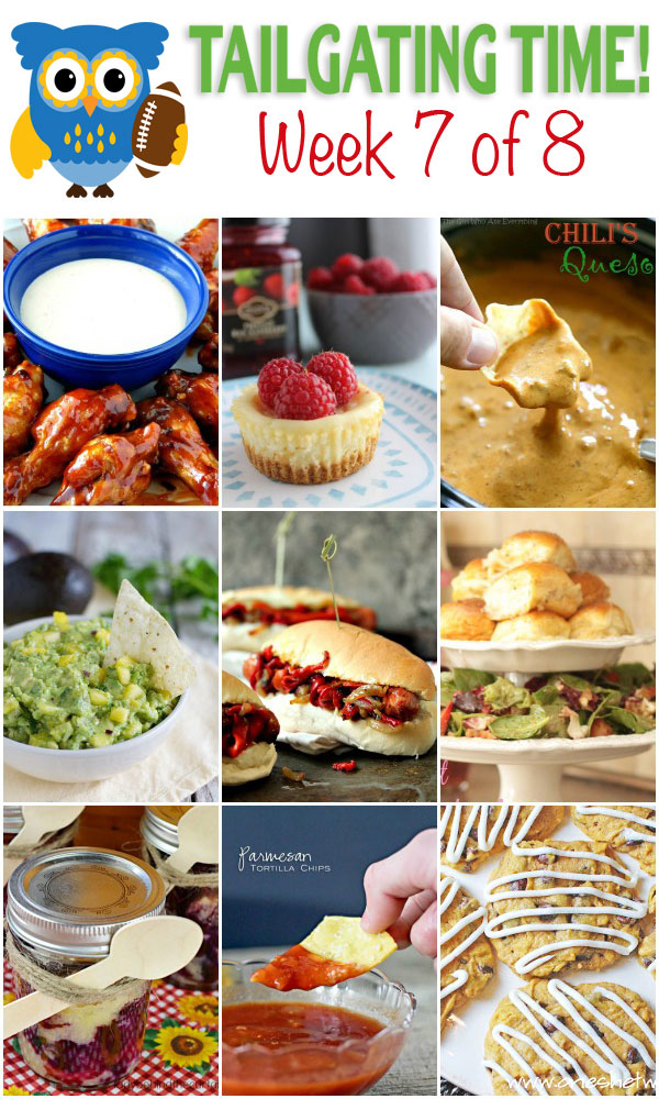 9 great recipes - perfect for tailgating time!