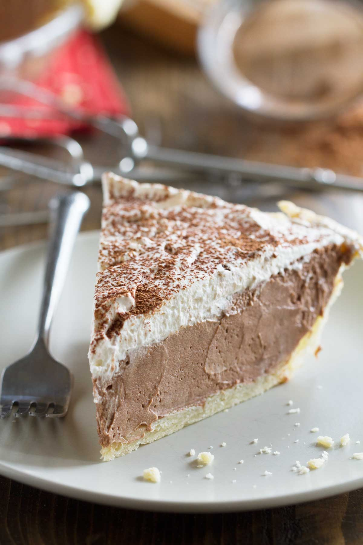 Easy Chocolate Cream Pie From Scratch Taste And Tell