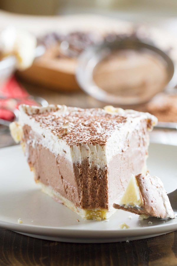 Chocolate Cream Pie from Scratch