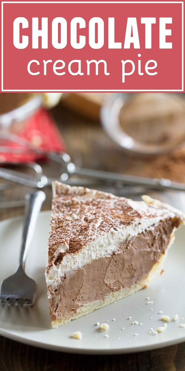 How to Make Chocolate Cream Pie