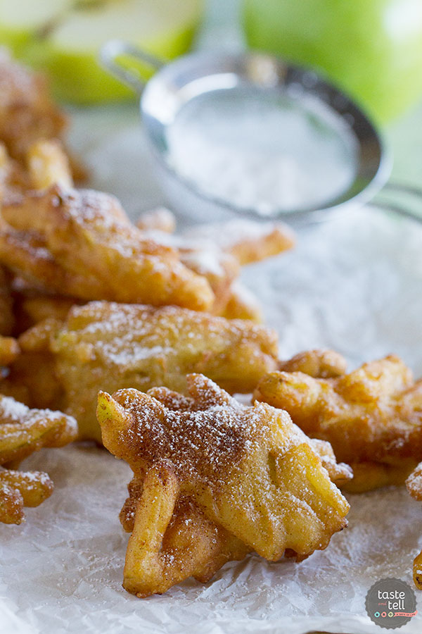 A few simple ingredients come together to make this Cinnamon Apple Fritter Recipe - filled with lots of fresh apples and the perfect amount of spice.