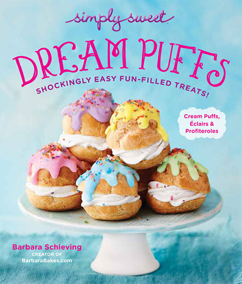 A review of Simply Sweet Dream Puffs, plus a recipe for Lemon Meringue Eclairs.