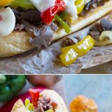 If you are looking for an easy dinner that is a crowd pleaser, look no further than this Easy Cheesesteak Recipe. By using deli roast beef, this recipe comes together in a snap!