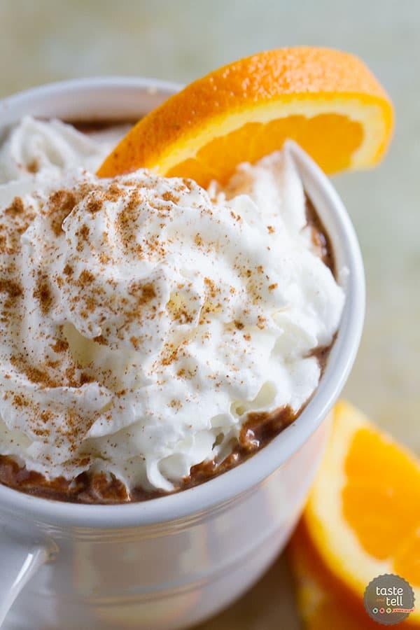 Spiced Orange Hot Chocolate - Gourmet Hot Chocolate 2 Ways!