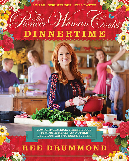 A review of The Pioneer Woman Cooks Dinnertime, plus an Easy Cheesesteak Recipe.